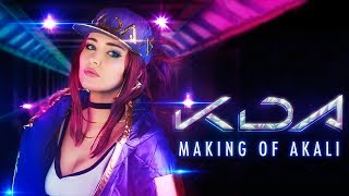 K/DA AKALI COSPLAY - Making Of!