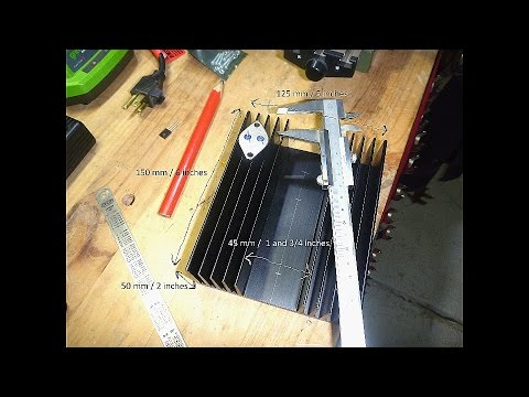 DIY Bench Power Supply #8 - Mounting Transistors on the Heatsink