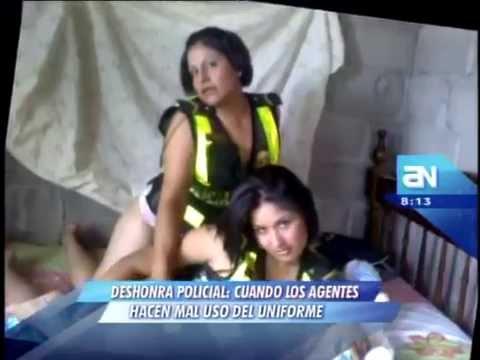 Policias Peruanos pedofilos meten menores de edad a cuarteles y sacan fotos