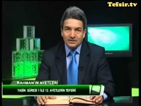 Yasin   Suresi Kuran Tefsiri  1-12 Ayetlerler  Prof.Dr. Şadi Eren