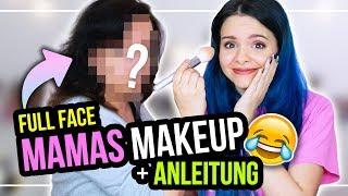 Meine MUTTER bestimmt mein MAKEUP... Full Face nur mit Mamas Makeup! :D