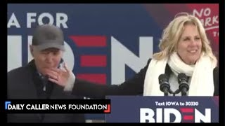 Biden Nibbles His Wife's Fingers During A Speech - DC Shorts