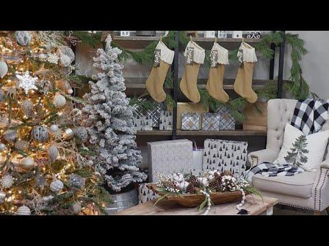 Best farmhouse Christmas home tour.