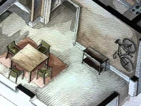 Best Watercolor Floorplans From Recent Television Shows And Films