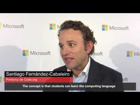 Microsoft Spain and Real Madrid explore Skype during Hour of Code