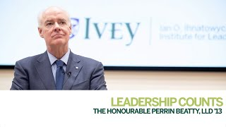 Thumbnail The Honourable Perrin Beatty, LLD '13: Leadership Counts