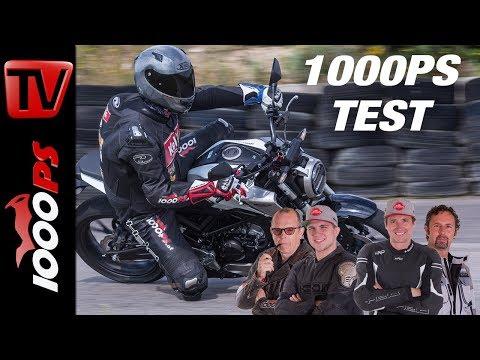Honda CB 125 R Test - Großer 125er Vergleich
