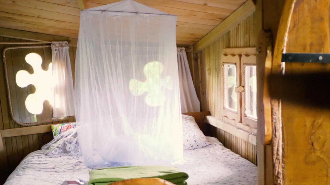 Week End Bulle Transparente Bretagne les cabanes pechées familiales baman pradan folenn