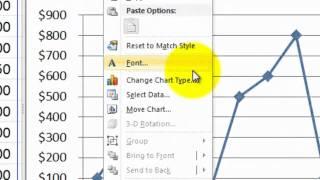 Comment Créer un Graphique dans Excel 2010