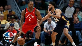 Kawhi Leonard scores 31, Kyle Lowry gets triple-double | Raptors vs. Pelicans | NBA Highlights