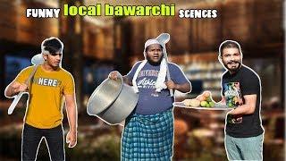 Funny Bawarchi Scences | Hyderabadi Comedy | Warangal hungama