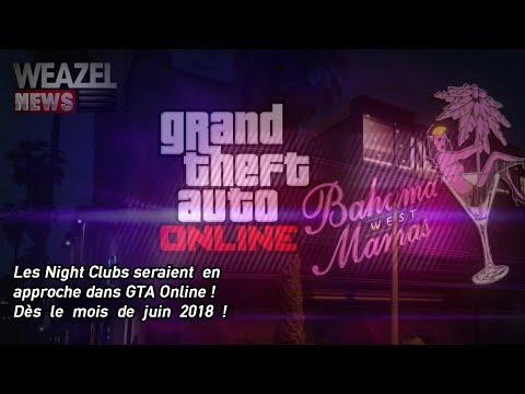 LES NIGHT-CLUB LE MOIS PROCHAIN SUR GTA ONLINE ? WEAZEL NEWS