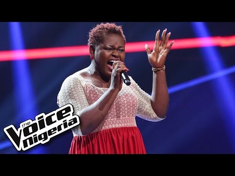 Joxy Jeb sings 'I Have Nothing' / Blind Auditions / The Voice Nigeria 2016