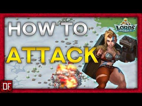 How To ATTACK And SPOT Your Enemies! - Lords Mobile