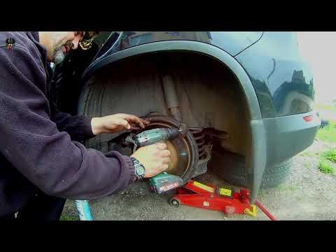 Замена задних колодок VW TIGUAN