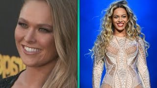 EXCLUSIVE: Ronda Rousey Flips Over Beyonce Using Her