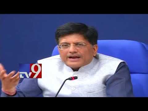 Major rejig in PM Modi's Cabinet - Piyush Goyal to take over Finance Ministry - TV9