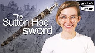 Hands on with the Sutton Hoo sword I Curator's Corner S5 Ep1 #CuratorsCorner #SuttonSue #TheDig