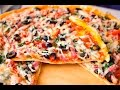 бездрожжевое тесто для тонкой пиццы