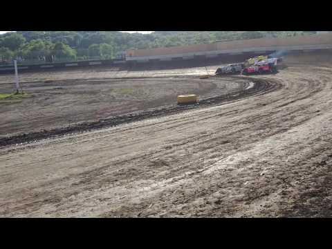 Peoria speedway 7-1-17 sblm heat race #2