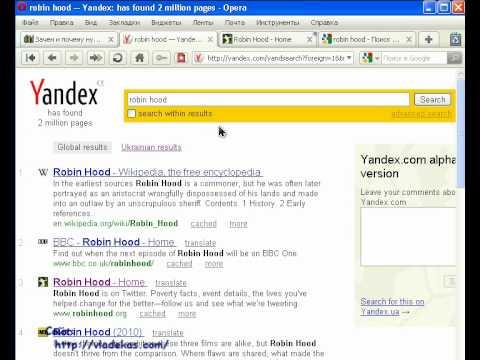 Yandex .com - обзор нового поиска / Review Of The New Search #PI