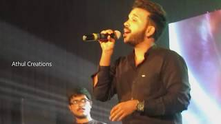 Pavizha Mazha  Song | First Ever  Live Performance | KS Harisankar | Cross Roads MBCET