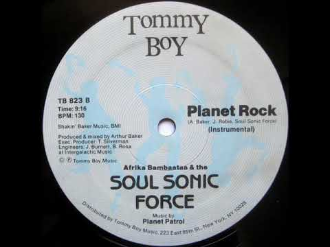 Afrika Bambaataa & The Soul Sonic Force - Planet Rock (Instrumental) (1982)