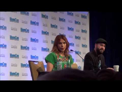 Billie Piper The Doctor Who's Panel @Megacon Tampa Bay 2016