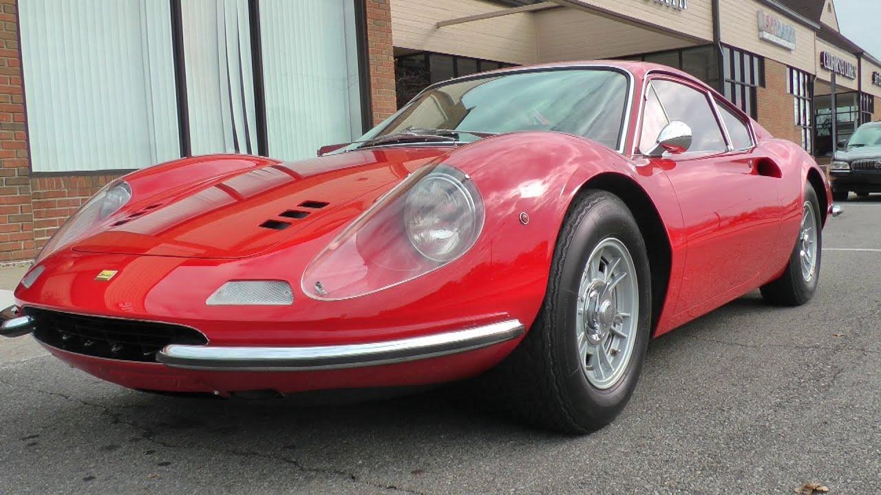 Ride In A Ferrari Dino 246 Gt Youtube