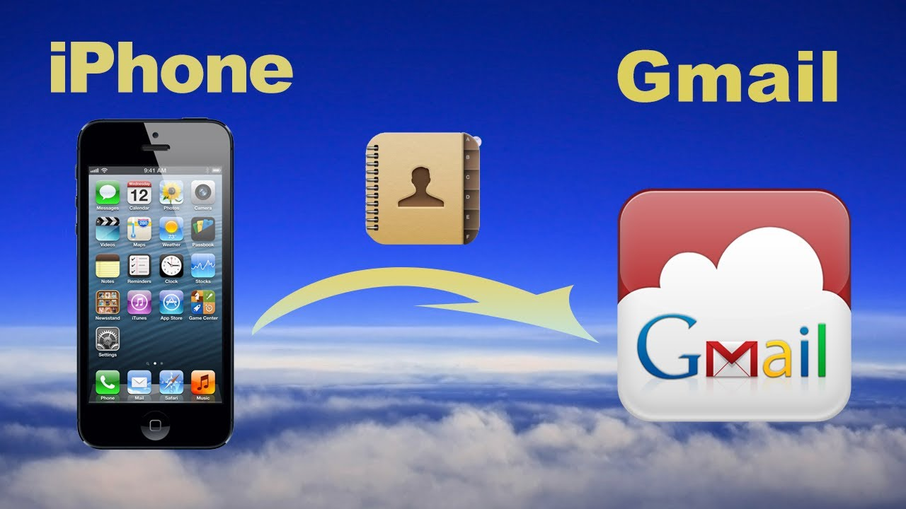 Best Picture Of Gmail Contacts Backup - Iphone to gmail sync gmail contacts with iphone or export backup iphone contacts to gmail account youtube