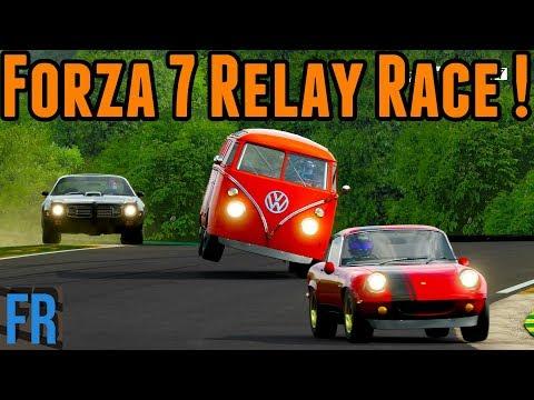 Forza Motorsport 7 - Relay Race
