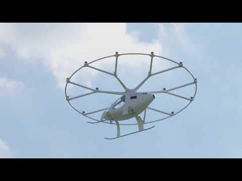 Volcopter completes its first city demo flight in Europe