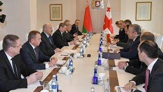 Премьер Грузии на встрече с Лукашенко рассказал о золотой странице в отношениях народов двух стран