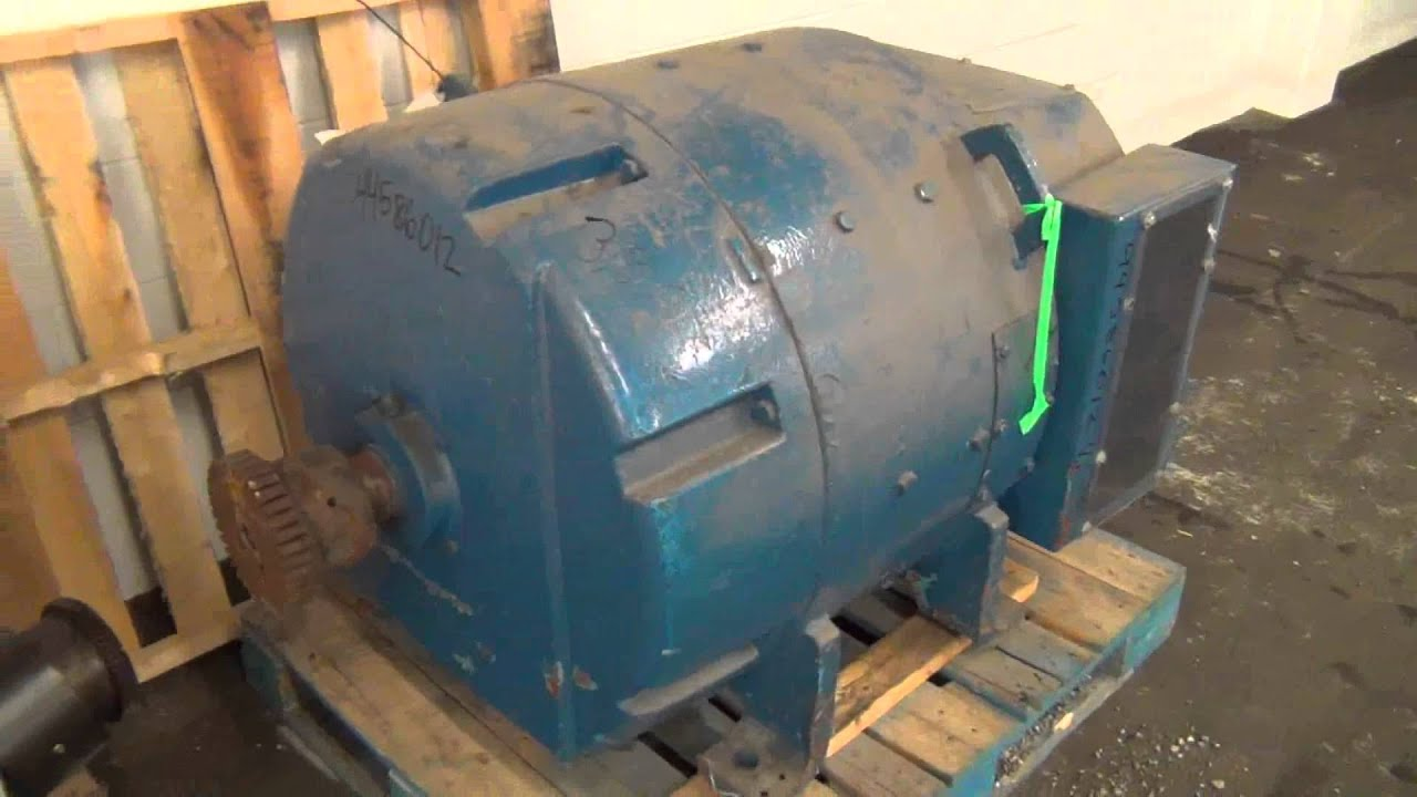 Used general electric 300 hp dc motor stock 44586012 for General electric dc motors