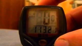 видео обзор велокампьютера sb-318