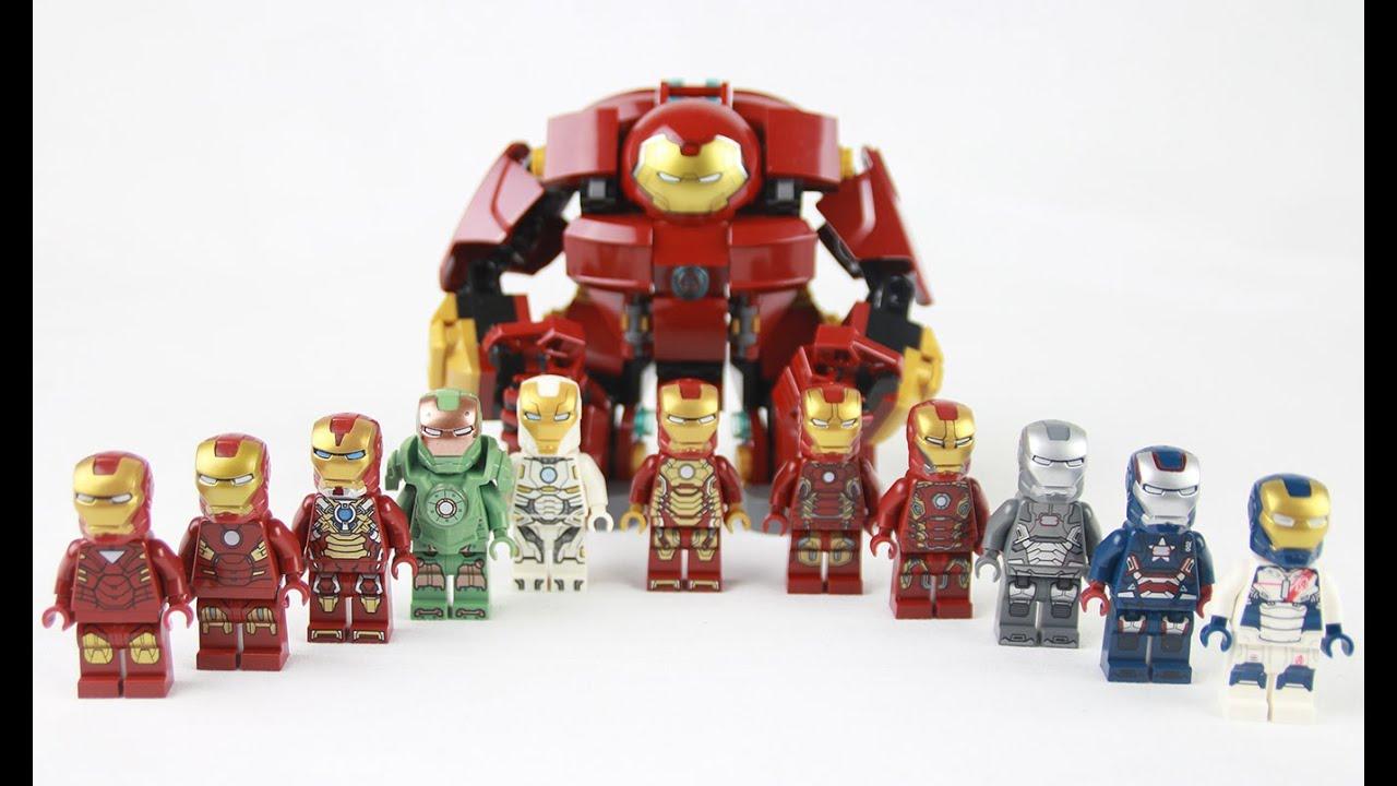 Lego Iron Man Armory Collection Showcase
