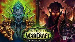 World of Warcraft: Archimonde vs Kil'jaeden [Defeat Cinematics]