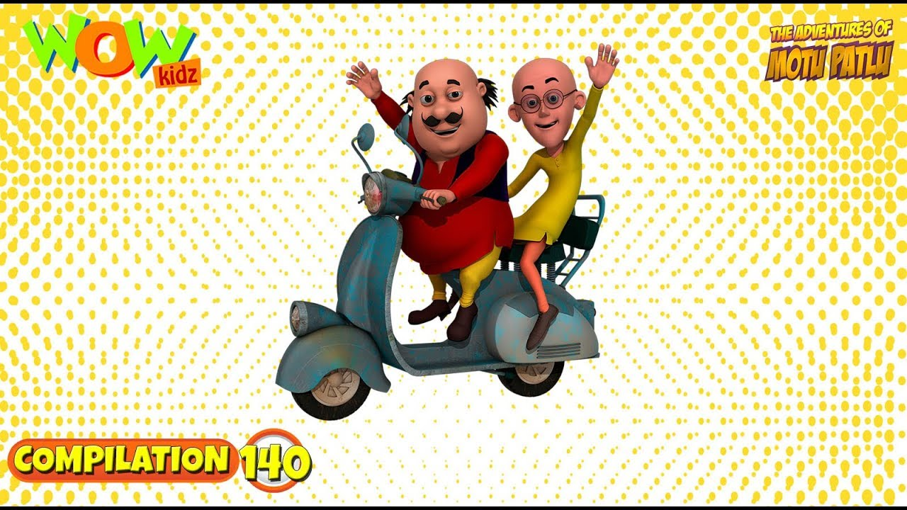 Motu Patlu - Non stop 3 episodes | 3D Animation for kids - #140