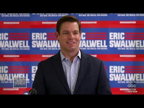Eric Swalwell Exits Presidential Race   The View