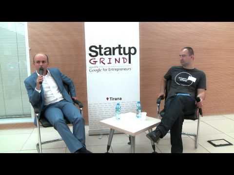 Klodian Allajbeu (American Hospital) at Startup Grind Tirana