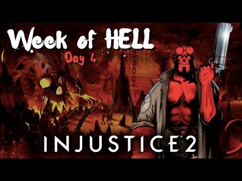 CLOSE MATCHES! Injustice 2: Week of HELL - Day 4