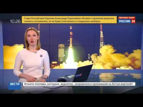 Russian media on isro 104  settelite launch in one shot!