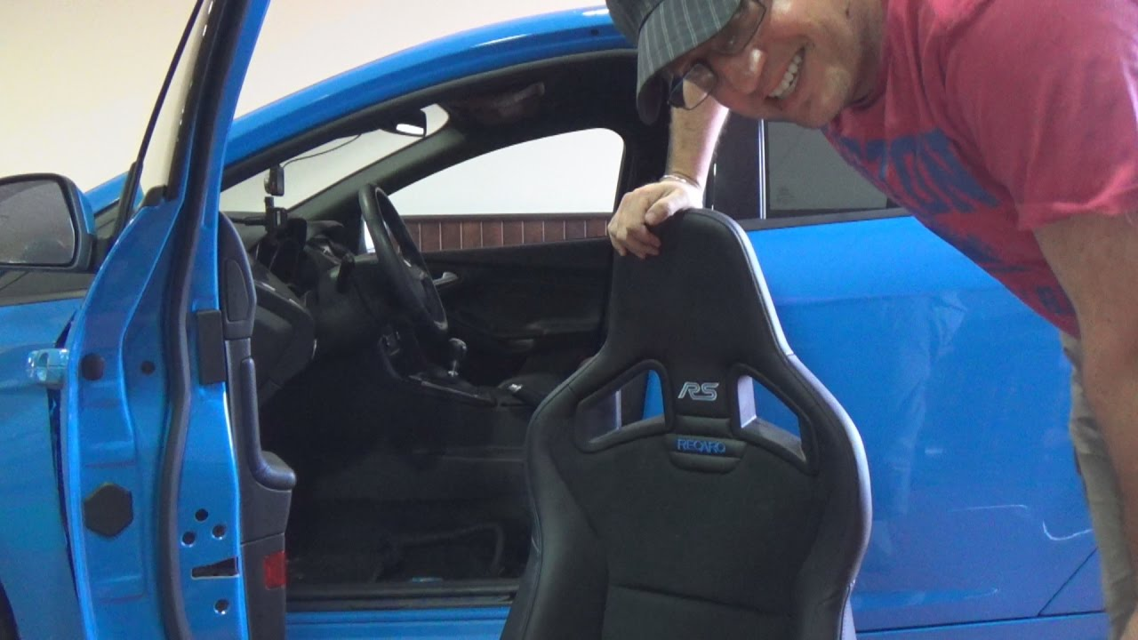 I lowered the Recaro shell seat in my Focus RS and its
