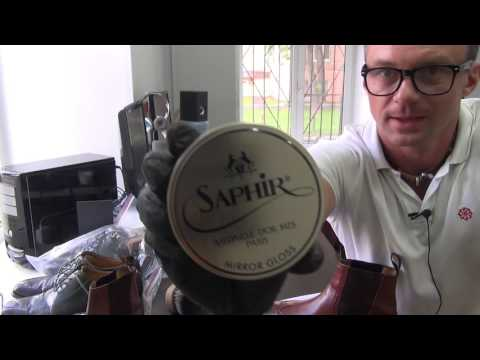 Гуталин для полировки обуви Pate de Luxe – Saphir, 100мл.