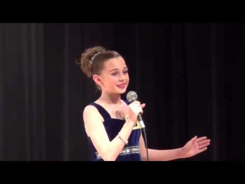 Grace Rusnica singing Part of Your World at Kean Idol. 2013