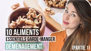 Top 10 Essentiels Aliments Non-Périssables Économiques   ASTUCES DÉMÉNAGEMENT MANGER SANTÉ