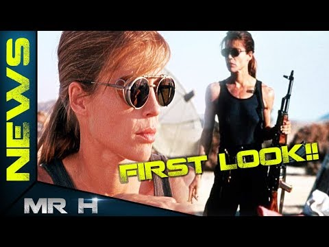 FIRST LOOK Sarah Connor In TERMINATOR 6