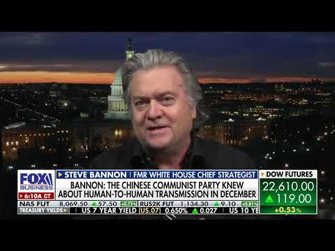 Steve Bannon: Blood is on the hands of the Chinese Communist Party