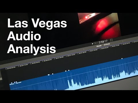 Audio Analysis of Las Vegas Shooter - Doesn't add up.