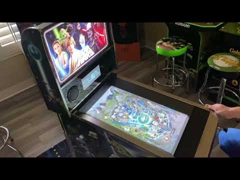 Star Wars Pinball Arcade1up Achto Table: Extended Gameplay from Kelsalls Arcade